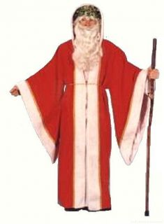 Costumes Traditional Father Christmas Costume Robe