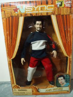 NSYNC Joey Fatone Marionette Puppet Doll 2000 New