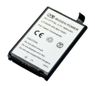 Mugen Slim Extended 1800mAh Battery for Verizon Casio GZone Commando