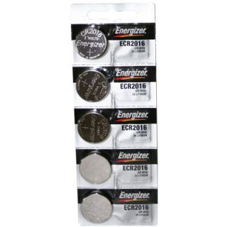 Energizer CR2016 Lithium 3V Coin Cell Batteries DL2016