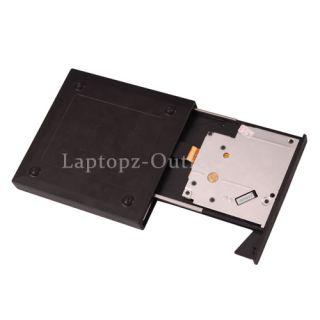New Super Slim External USB PC Notebook 24x CD ROM Drive Black