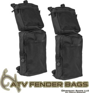New Waterproof ATV Fender Pack Bags Quad 4 Wheeler 62107
