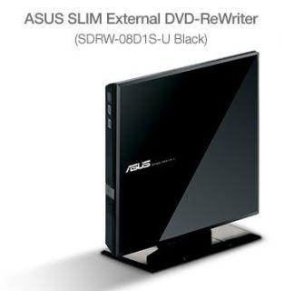 Asus USB CD DVD Read Write Slim External Drive
