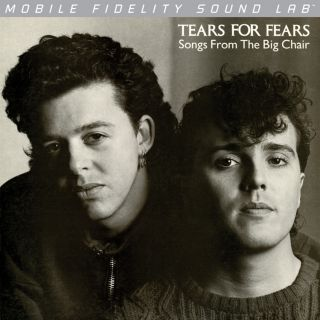 Tears For Fears Songs From The Big Chair Mobile Fidelity Silver Label
