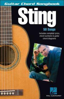 Hal Leonard Sting Guitar Chord Songbook
