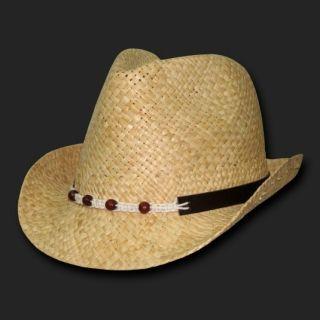 Raffia Straw Braided Rope Fedora Fedoras Hat Hats SM MD