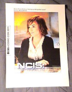 Angeles Exclusive Promo Card Renee Felice Smith Neil Jones SDCC