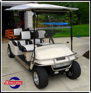 Stainless Steel Brush Guard for EZGO Golf Cart TXT PDS Model