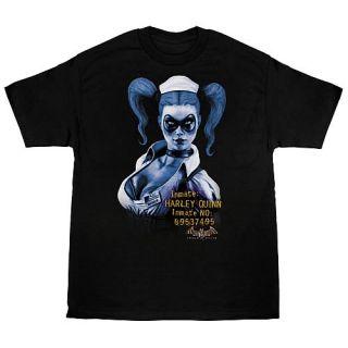 Batman Arkham Asylum Harley Quinn T Shirt