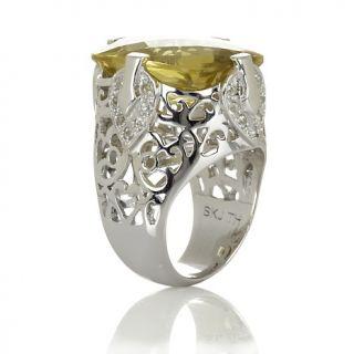 Jewelry Rings Gemstone Sima K 15.84ct Apple Quartz and