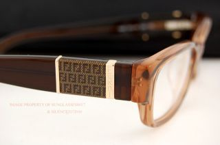 Brand New Fendi Eyeglasses Frames Model 942 Color 209 Brown Women