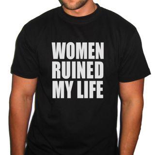 Women Ruined My Life Fabolous Music Tshirt Mens Ladies All Sizes