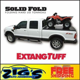 Extang Solid Fold Tonneau Cover 1999 2012 Super Duty 8 Long Bed
