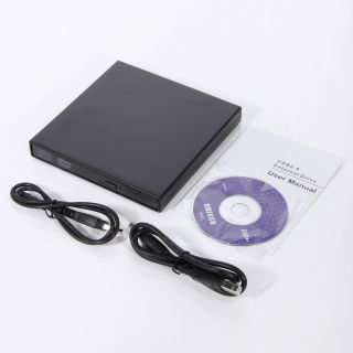 USB 2 0 External Combo CD RW Burner Drive CD±RW DVD ROM Laptop Slim
