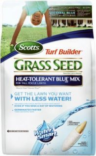Scotts 3 lbs Turf Builder Heat Tolerant Blue Grass Seed Mix
