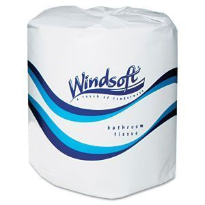 New Windsoft Facial Bath Tissue Toilet Paper 24 Ct