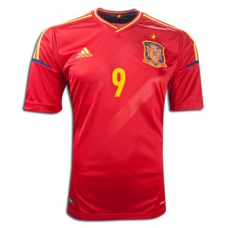Fernando Torres Spain 2012 Euro Home Jersey Medium