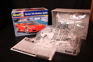 Revell Ferrari 360 Modena Spider Model Car Kit Scale 1 24 Free US