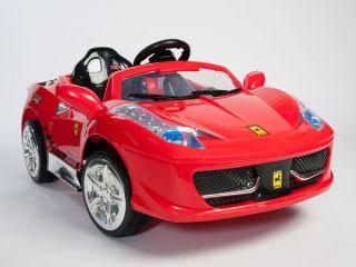 Ferrari 458 Italia Style Kids 12V Electric Power Wheel Ride On Car