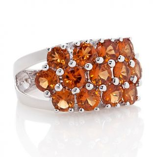 Jewelry Rings Gemstone 4.29ct Hessonite Garnet Sterling Silver