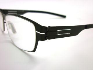 berlin eyeglasses M1161 sharon a metallic prescription black eye wear