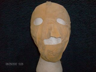 WWII Air Force USMC Cold Weather Pilot Mechanic Mask