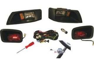 EZGO Golf Cart Complete Headlight Kit with Turn Signals