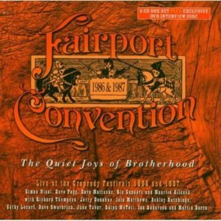 Fairport Convention 2 CD DVD Box Set The Quiet Joys Of Brotherhood