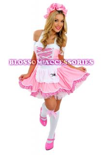 Little Miss Muffet Storybook Fairy Tale Fancy Dress Halloween Costume