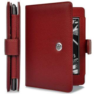 CaseCrown Regal Flip Case for  Kindle Touch eReader Red