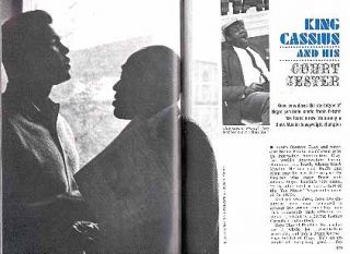 BOXING 1965 CASSIUS CLAY & STEPIN FETCHIT PICTORIAL COURT JESTER to