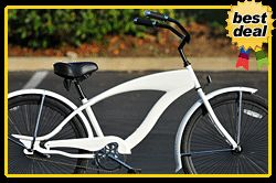 26 Beach Cruiser Bicycle Bike Micargi Falcon s Limited