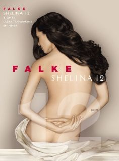 Falke Shelina 12 Ultra Transparent Shimmer Tights Pantyhose Bare Leg