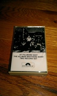 AT FILLMORE EAST THE ALLMAN BROTHERS BAND TWO RECORD SET Southern Rock