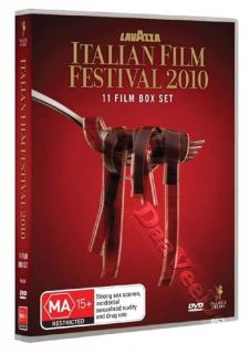 Italian Film Festival 2010 11 Film Collection New PAL Arthouse 6 DVD