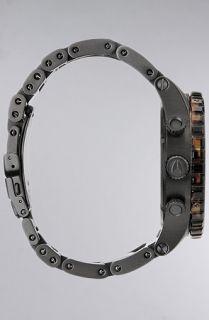 Nixon The 5130 Chrono Watch in Matte Black Dark Tortoise  Karmaloop