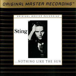Sting Nothing Like the Sun Mobile Fidelity MFSL Ultradisc II 24 KT