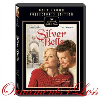 Hallmark Gold Crown Hall of Fame Silver Bells DVD New