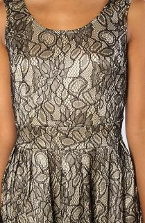 vintage girl french lace dress in cream black sale $ 21 95 $ 110 00