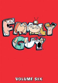 Family Guy Vol 6 DVD 2008 3 Disc Set Checkpoint Pan and Scan