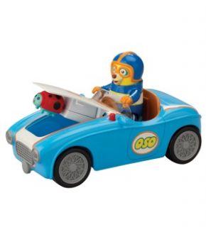 Special Agent OSO   OsoS Go Go Go Race Car *New*