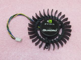 55mm NVIDIA Quadro Video Card Cooler Fan Replacement 39mm 4pin