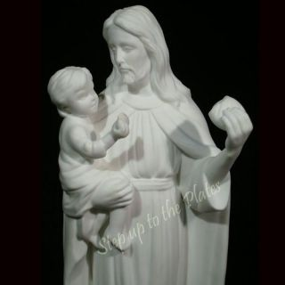 Lenox China Jesus Christ The Provider Religious Figurine Statue 1993