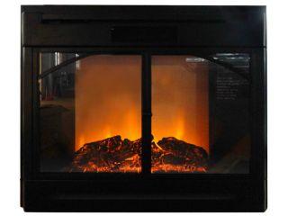 28 Black Electric Firebox Fireplace Insert Room Heater SFL 28R New