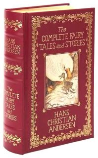 Fairy Tales Stories Hans Christian Andersen Red Leather Out of Print