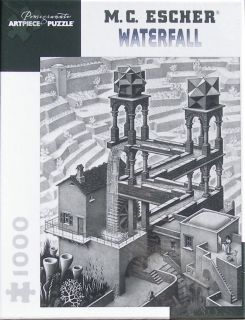 Escher Waterfall New 1000 PC Jigsaw Puzzle