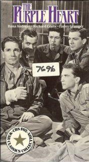 HEART 1944 Dana Andrews Richard Conte Farley Granger Milestone vhs
