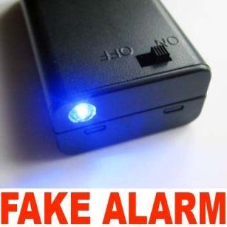 Flashing Blue LED Light Fake Boat Car Alarm Features