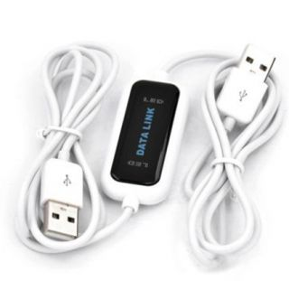 USB PC to PC Online Data Sync Link Net File Transfer Cable PC