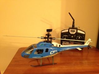 Esky Honey Bee CPX RC Helicopter and Spare Parts